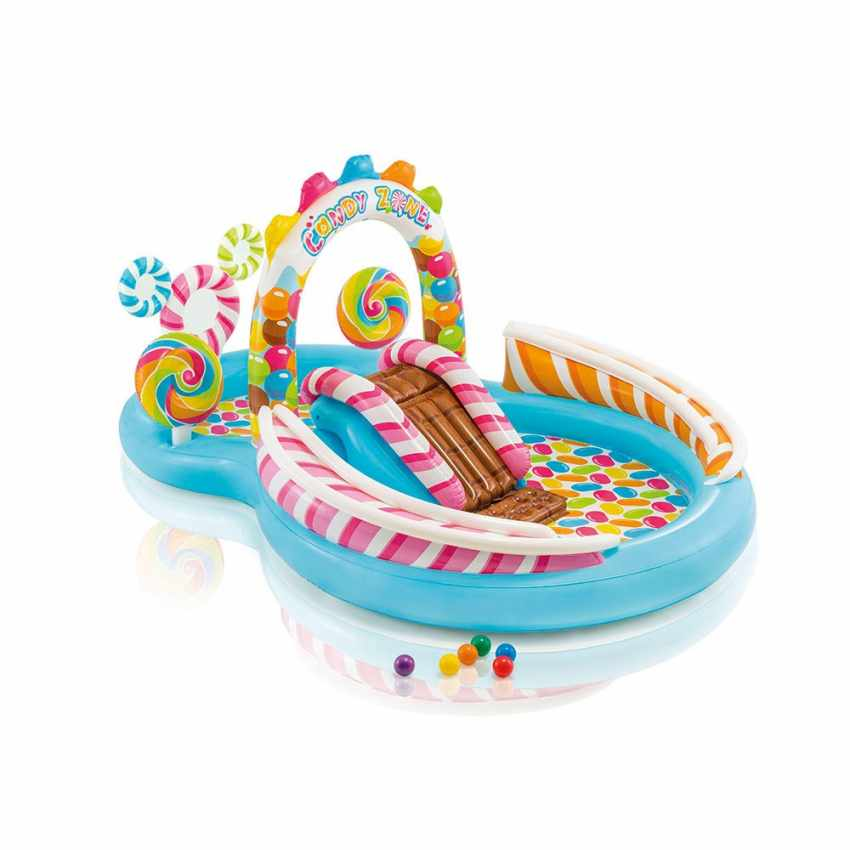 Intex 57149 Candy Play Center aufblasbarer Kinderpool Planschbecken - details