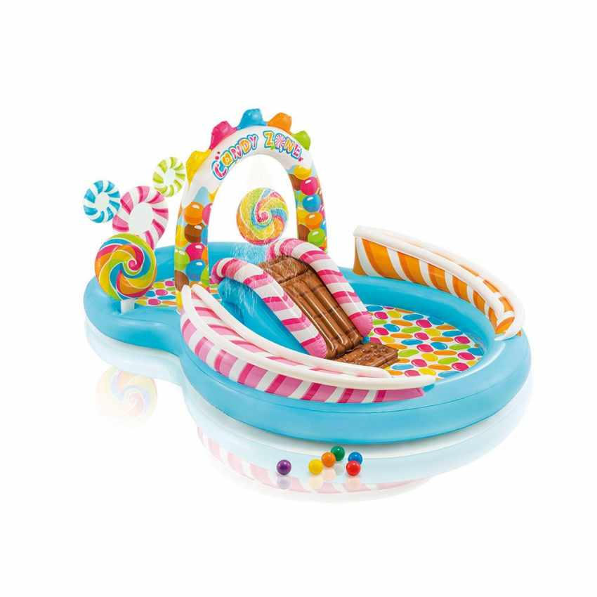 Intex 57149 Candy Play Center aufblasbarer Kinderpool Planschbecken - promo