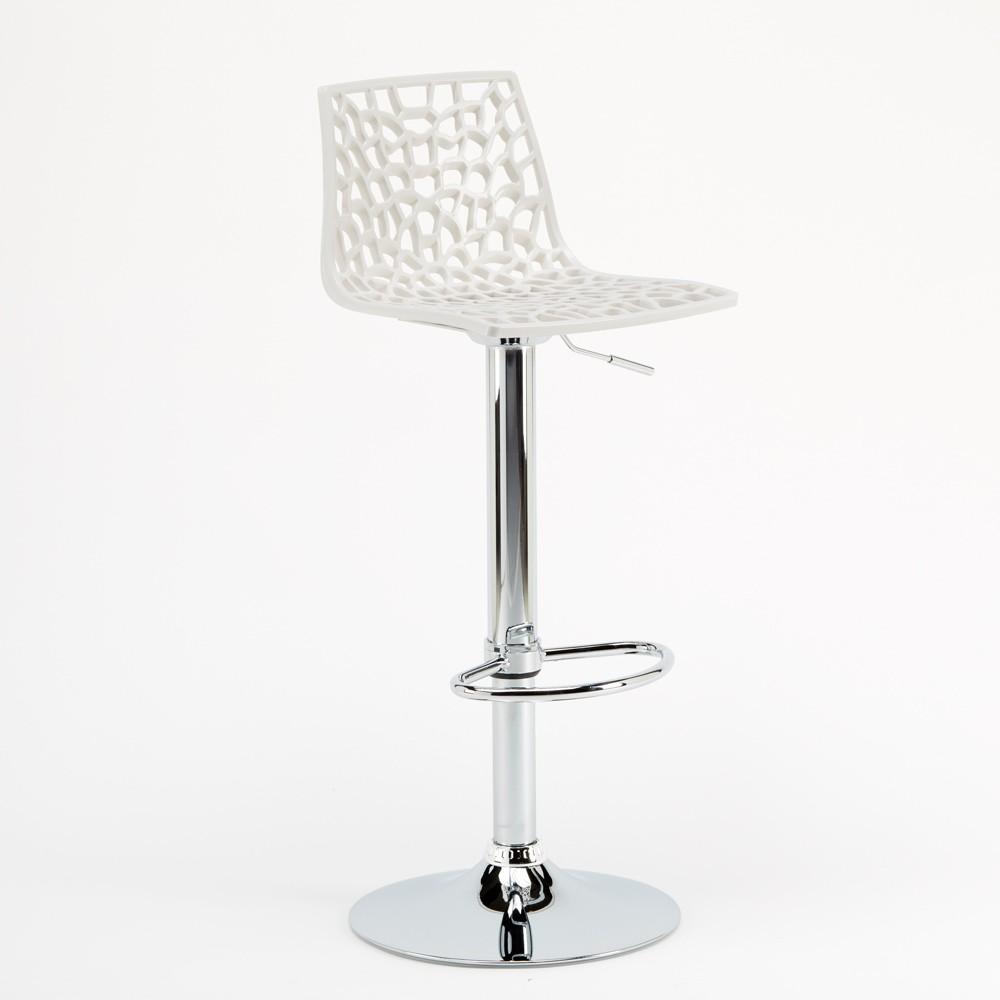 miniature 62 - Tabouret Grand Soleil SPIDER pour bar café cuisine haut fixe