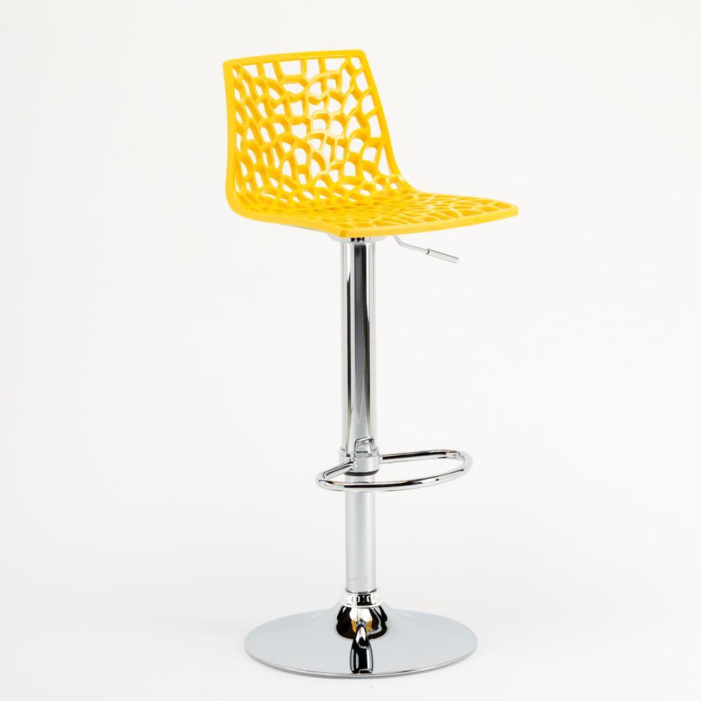 miniature 27 - Tabouret Grand Soleil SPIDER pour bar café cuisine haut fixe