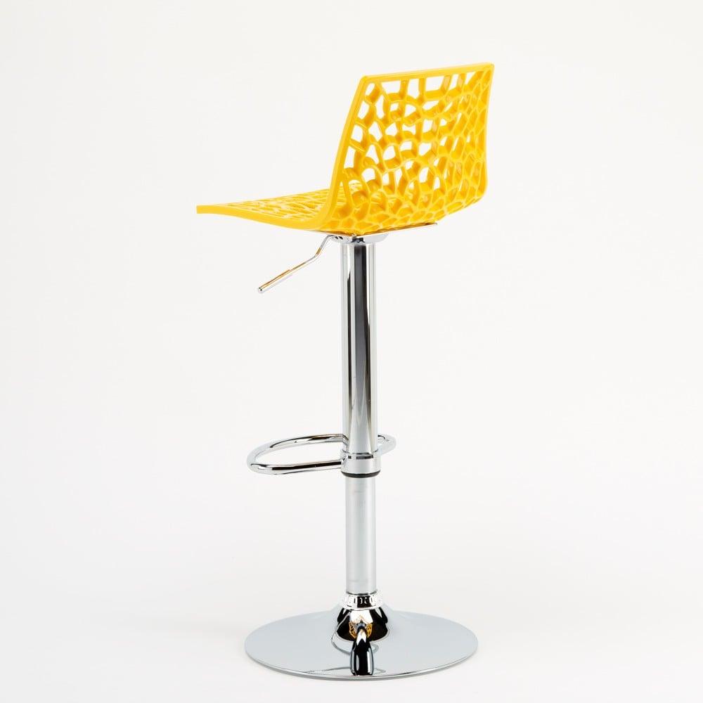 miniature 28 - Tabouret Grand Soleil SPIDER pour bar café cuisine haut fixe