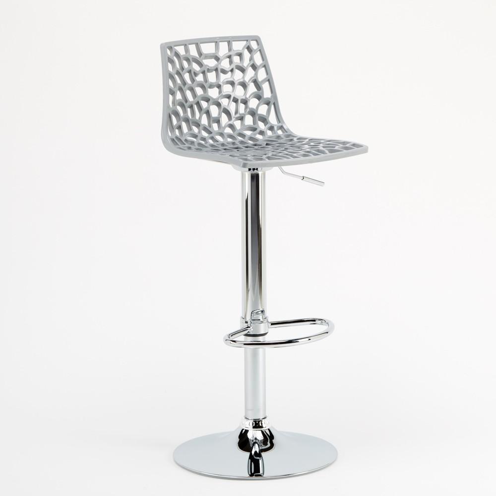 miniature 67 - Tabouret Grand Soleil SPIDER pour bar café cuisine haut fixe