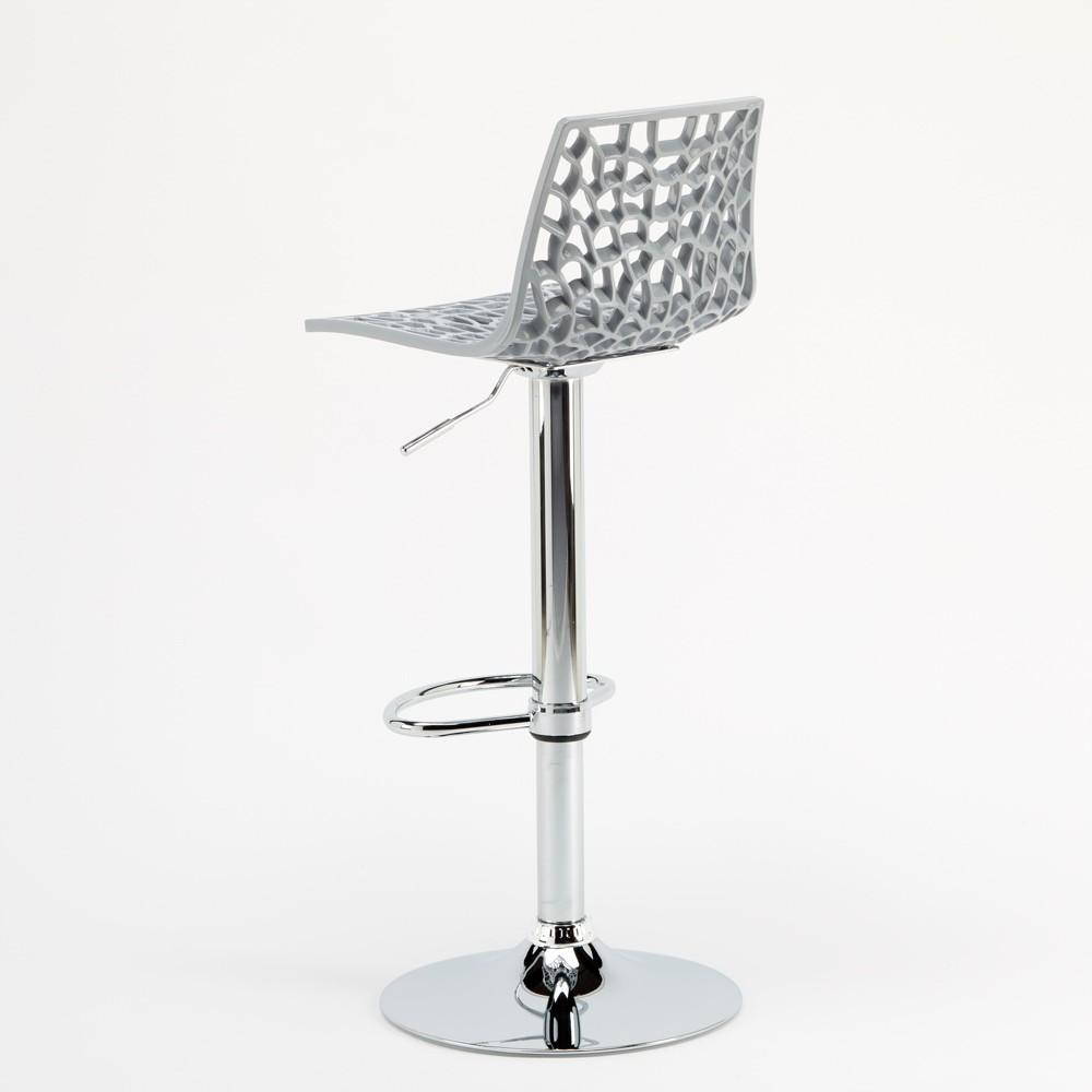 miniature 68 - Tabouret Grand Soleil SPIDER pour bar café cuisine haut fixe