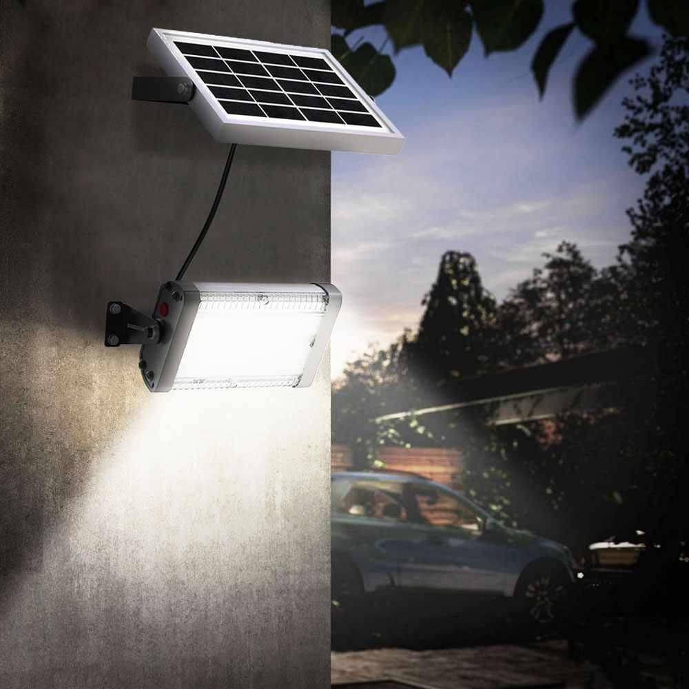FL1000LED - Faretto luce solare Led 1000 lumen da esterno Flood -