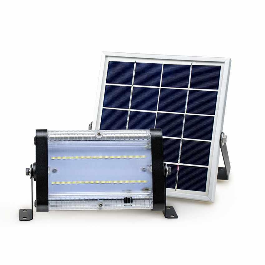 Faretto luce solare Led 1000 lumen da esterno FLOOD - discount