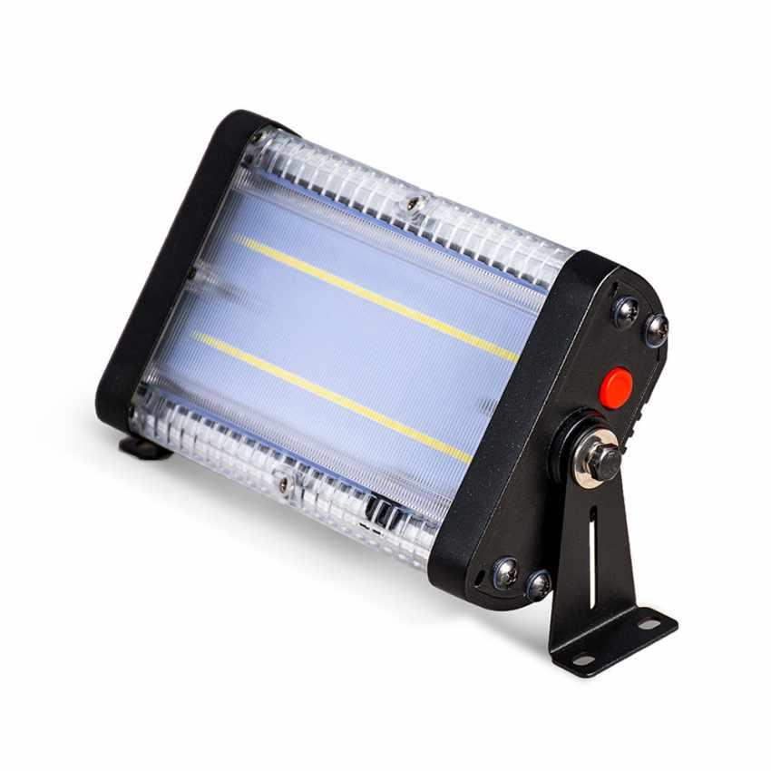 Faretto luce solare Led 1000 lumen da esterno FLOOD - arredamento