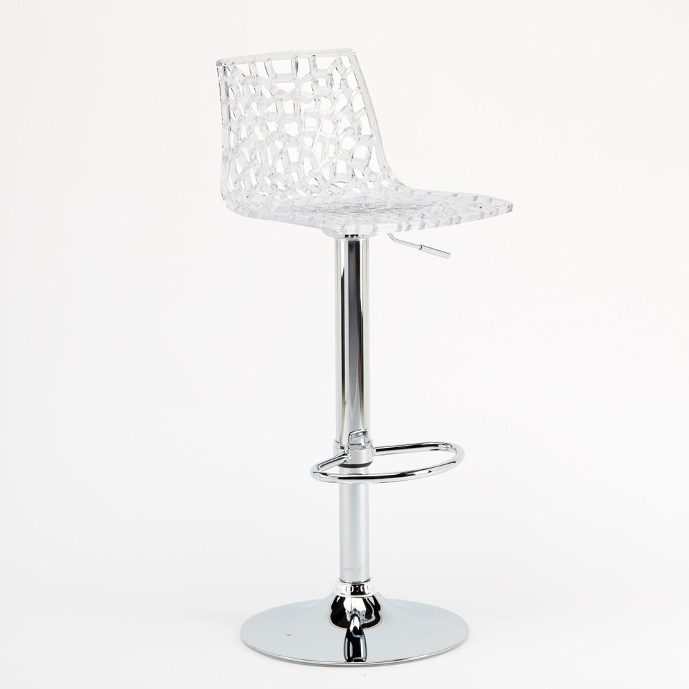 miniature 51 - Tabouret Grand Soleil SPIDER pour bar café cuisine haut fixe