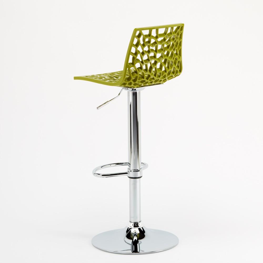 miniature 34 - Tabouret Grand Soleil SPIDER pour bar café cuisine haut fixe