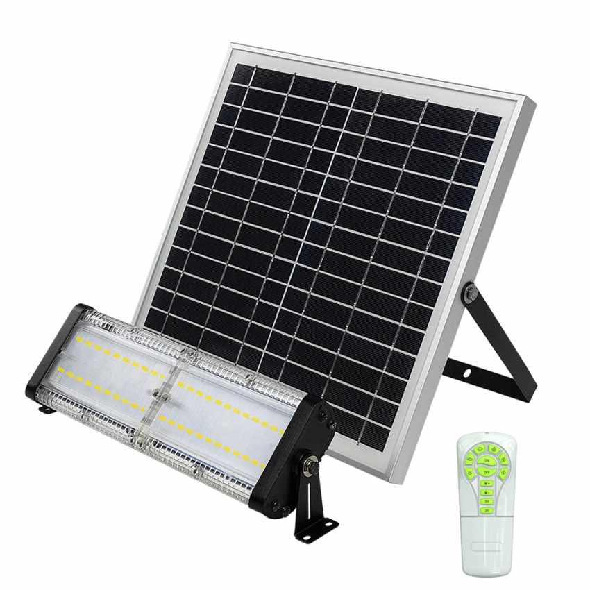 Faretto luce led solare per giardino ed esterno 5000 lumen FLOOD - forniture