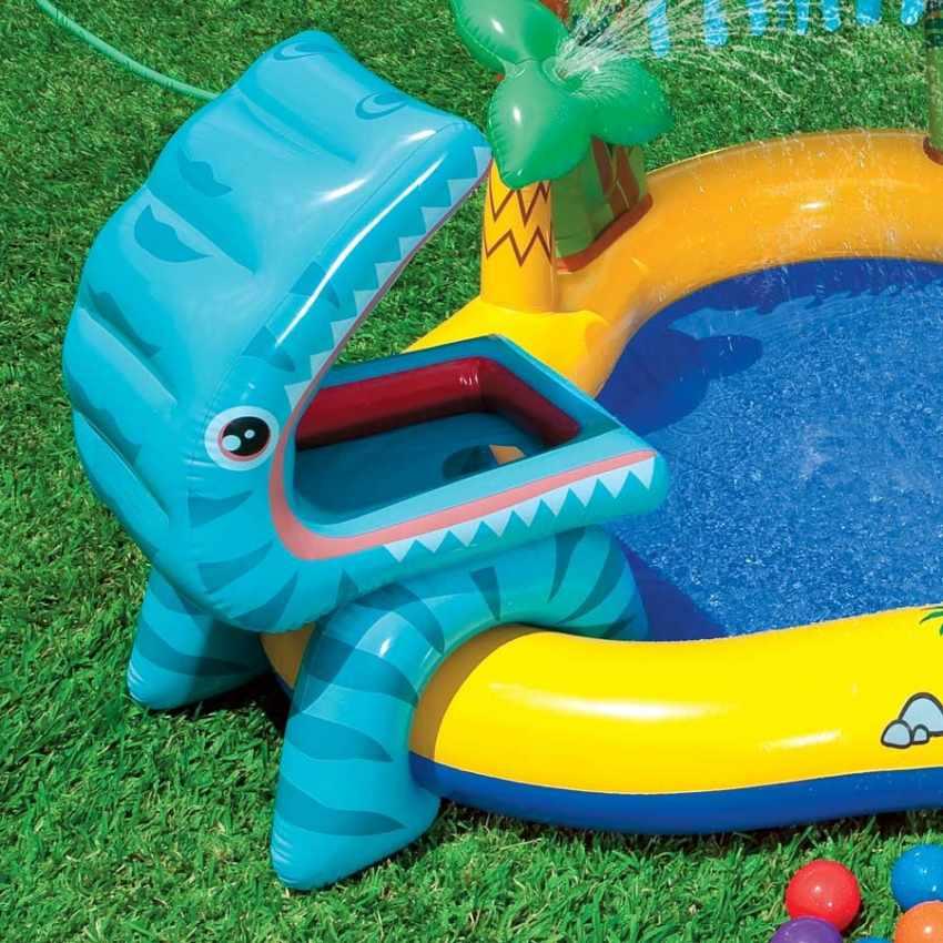 Intex 57444 Play Center Dinosaur aufblasbarer Kinderpool Planschbecken - offert