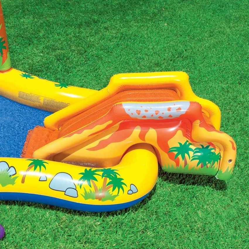 Intex 57444 Play Center Dinosaur aufblasbarer Kinderpool Planschbecken - outdoor