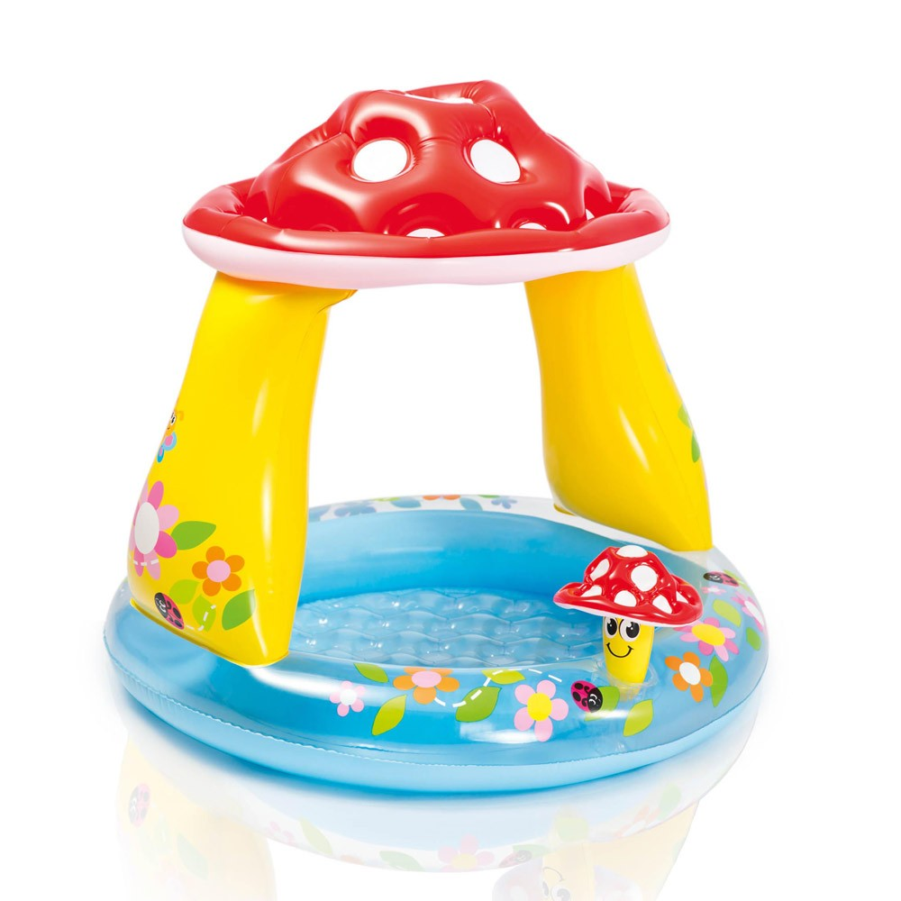 Piscina gonfiabile bambini Intex 57114 Mushroom baby pool fungo gioco - Preis