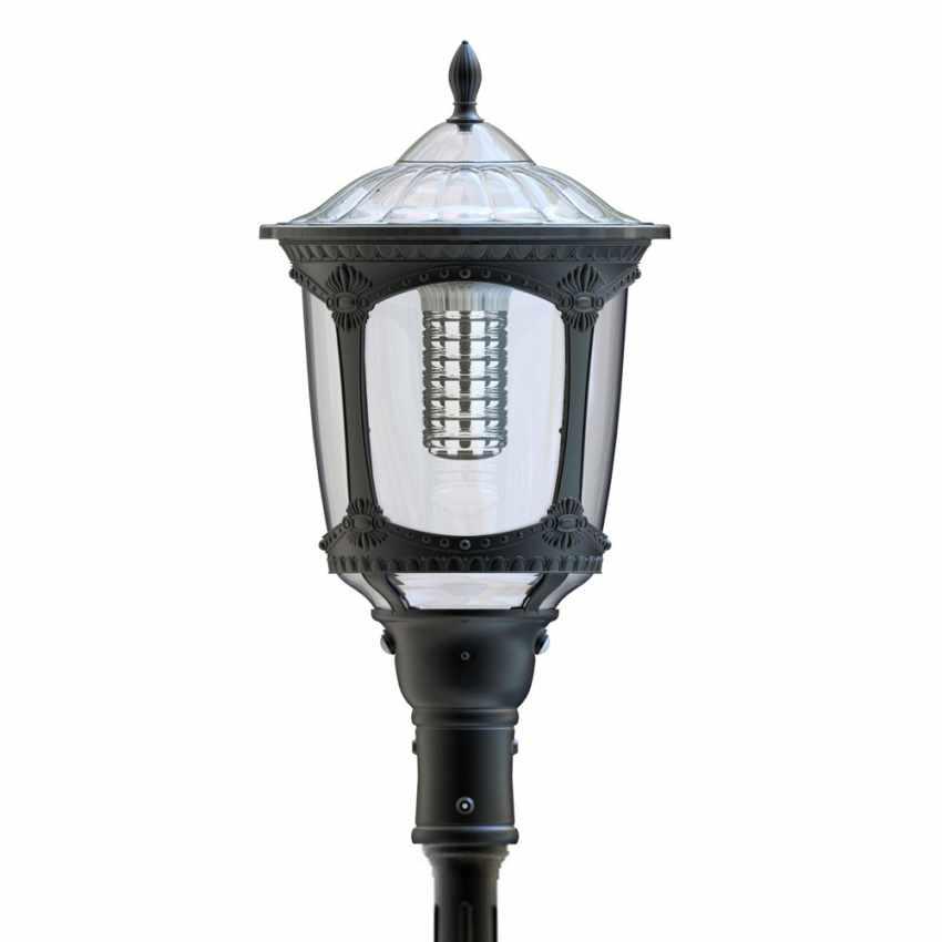Photovoltaik Straßenlampe mit Solarplatte Solarleuchte viktorianischer Stil MILANO - sales