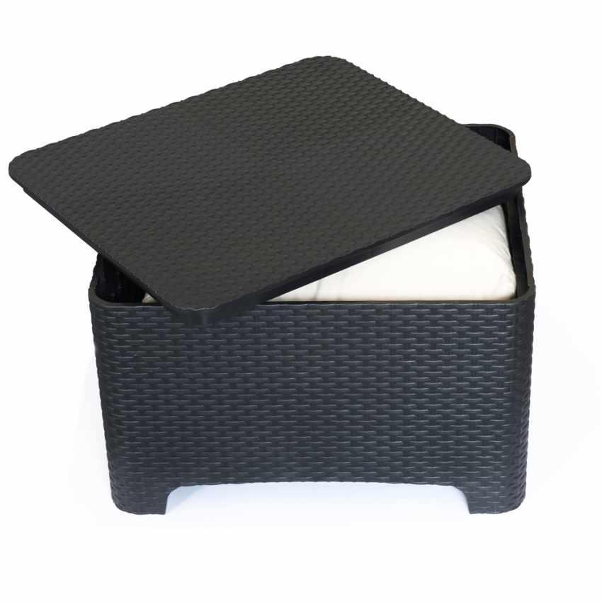 Coffee Table Storage Box Cushions For Garden Lounge Sets Outdoor Raffaello