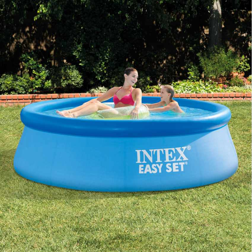 PVC Inflatable pool Intex 28112 244x76 Round Above Ground With Filter Pump - discount