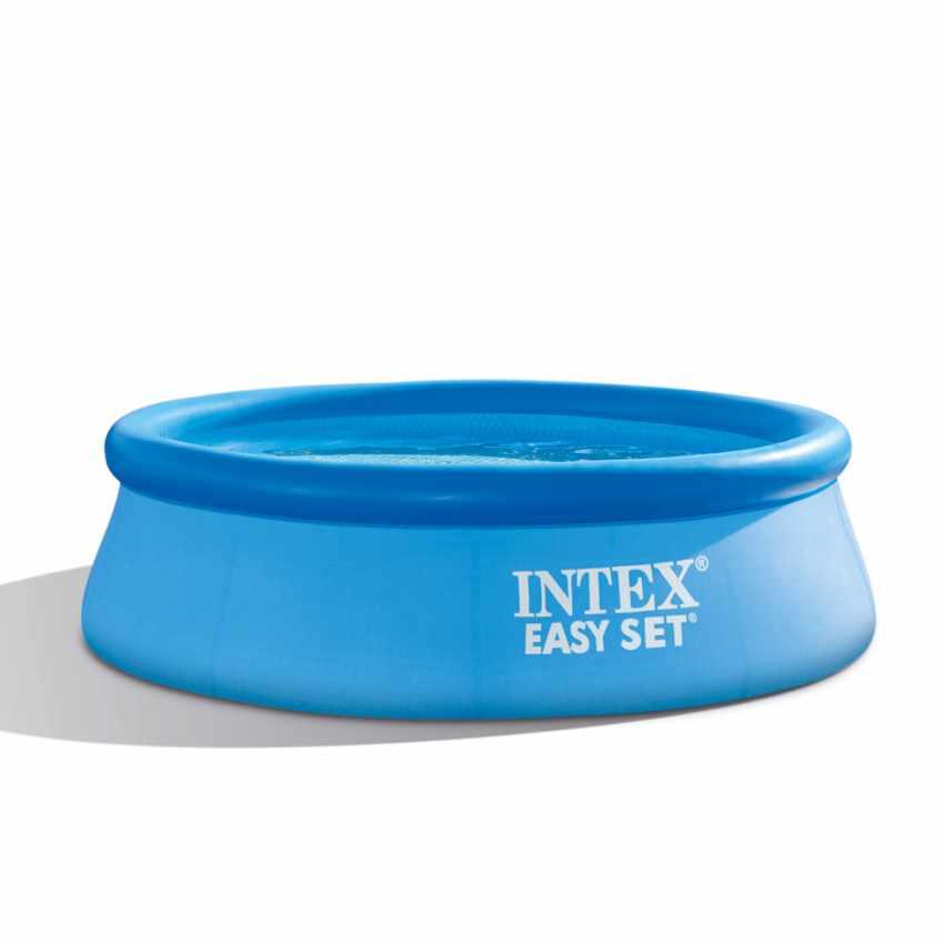 Piscina Gonfiabile Intex 28112 244x76 Rotonda Fuori Terra Con Pompa Filtro PVC - sales