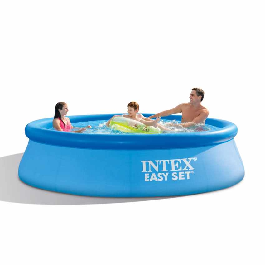 Piscina fuori terra gonfiabile rotonda 305x76 intex 28122 easy set - Intex piscine fuori terra ...