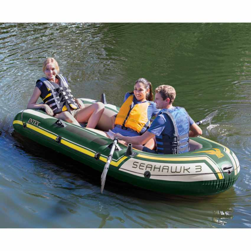 Canot gonflable Intex 68380 Seahawk 3 bateau Gonflable - promo