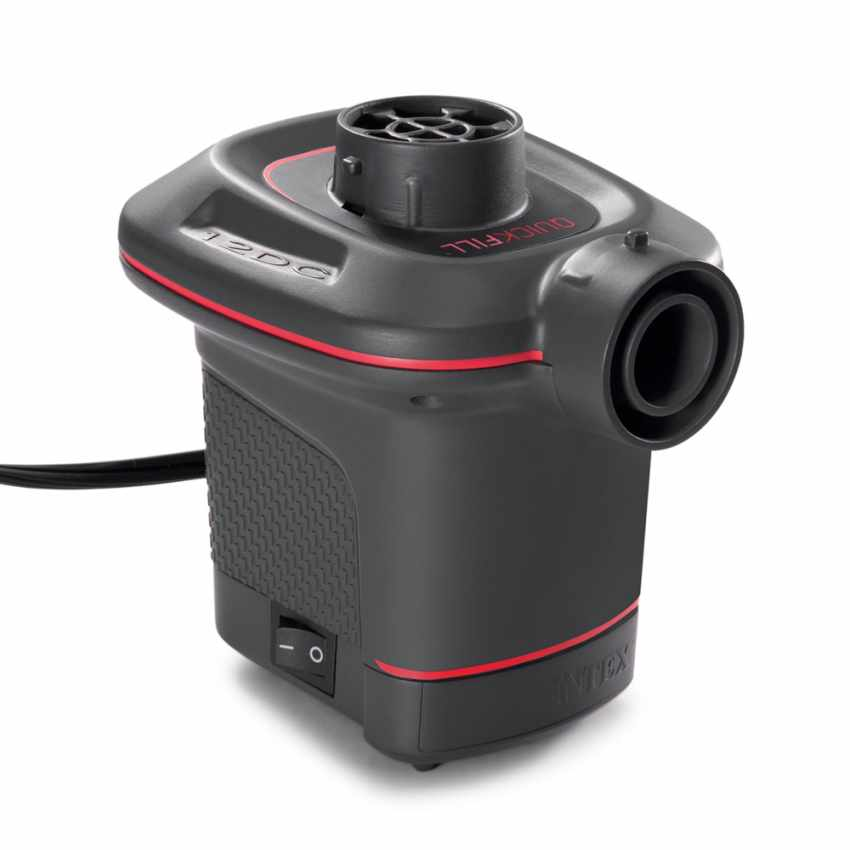 Pompa elettrica gonfiaggio prodotti Intex 66636 ex 66626 I.6 Quickfill accendisigari - promo