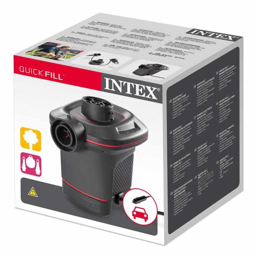 Pompa elettrica gonfiaggio prodotti Intex 66636 ex 66626 I.6 Quickfill accendisigari - interno