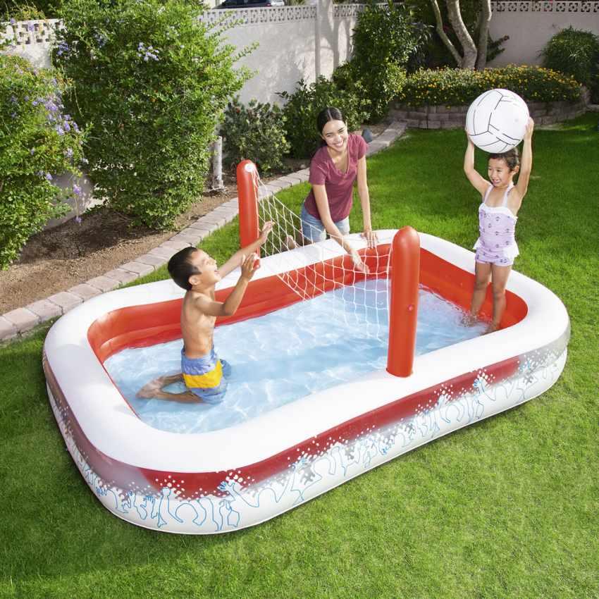 Piscine Gonflable pour Enfants Bestway 54125 Volleyball - dettaglio