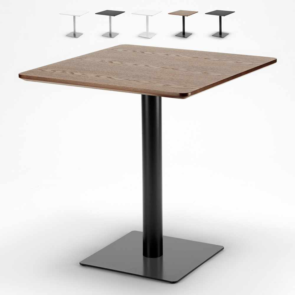 Tavolino quadrato per bar ristoranti hotel 70x70 HORECA - sales