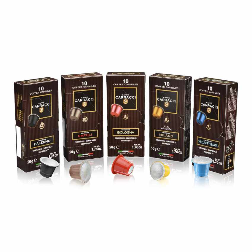 100 Coffee Capsules Compatible With Nespresso® Mixed Pack - best