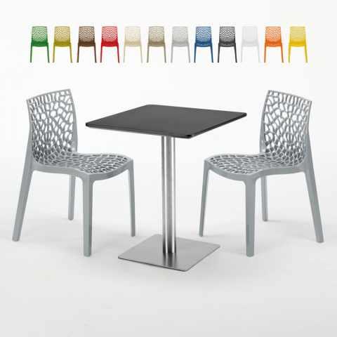 Set Rattan Sorrento Grand Soleil.Kitchen Chairs And Garden Furniture By Grand Soleil