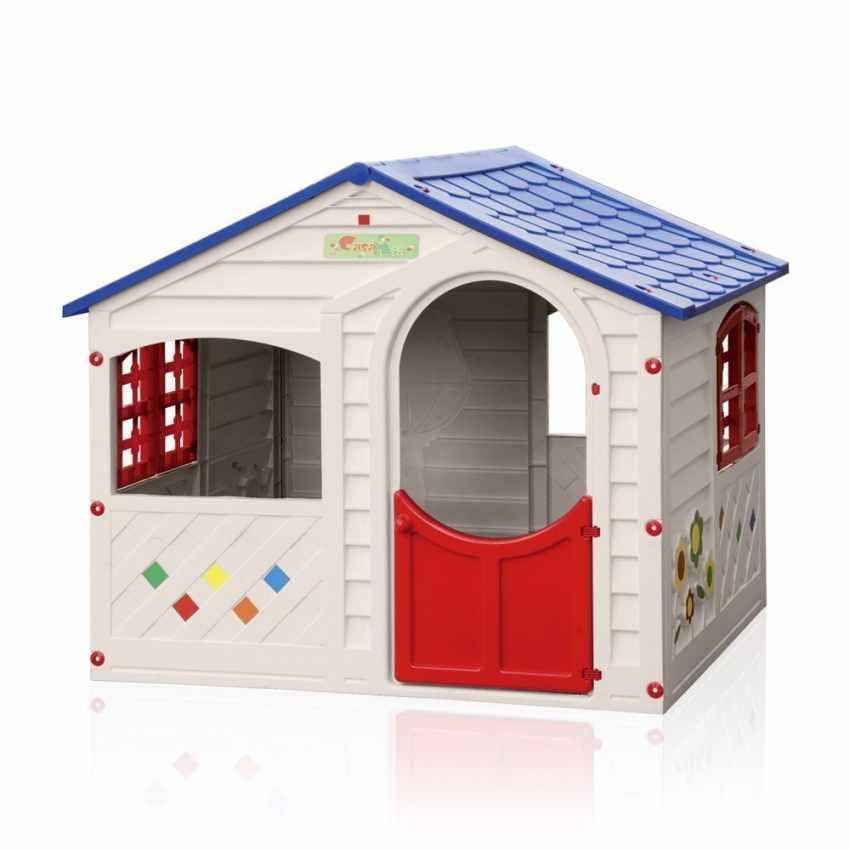Casetta Per Giardino Plastica.Casetta Di Plastica Per Bambini Per Interni Ed Esterni Casa Mia