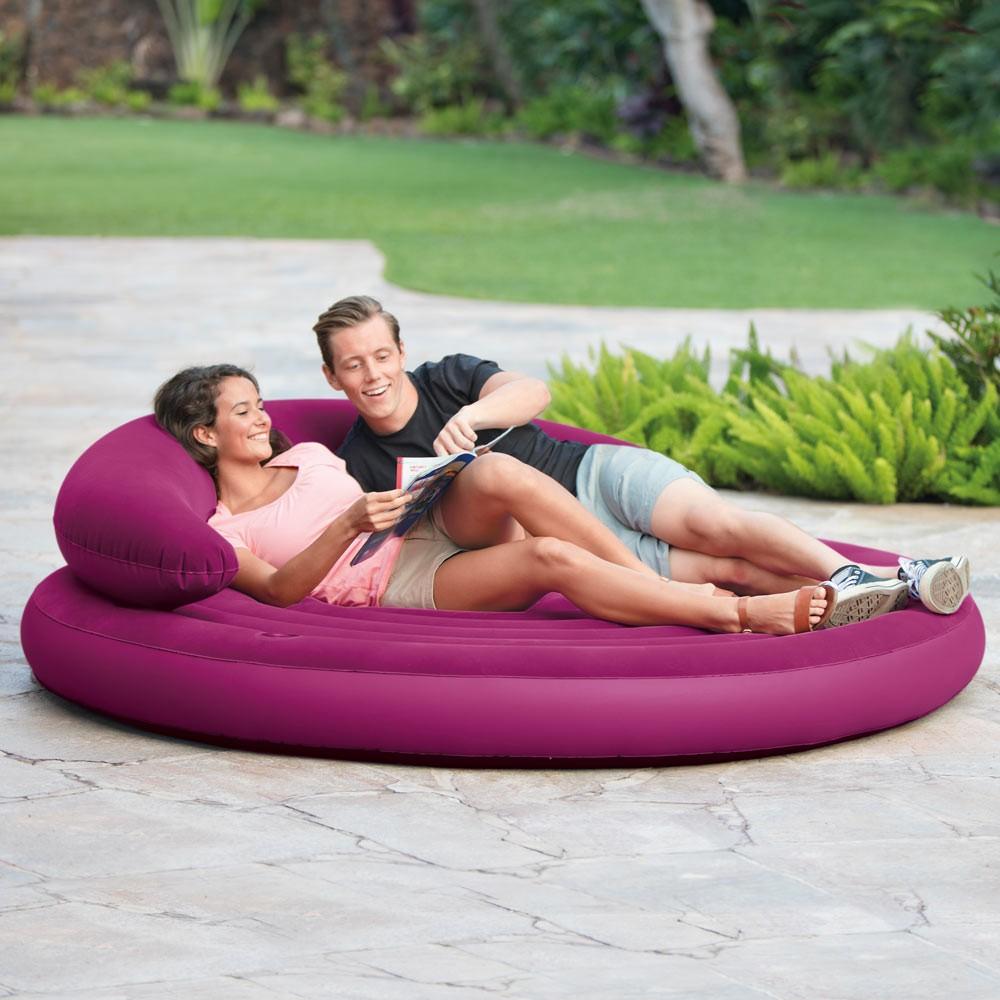 Materassi Gonfiabili Intex divano rotondo