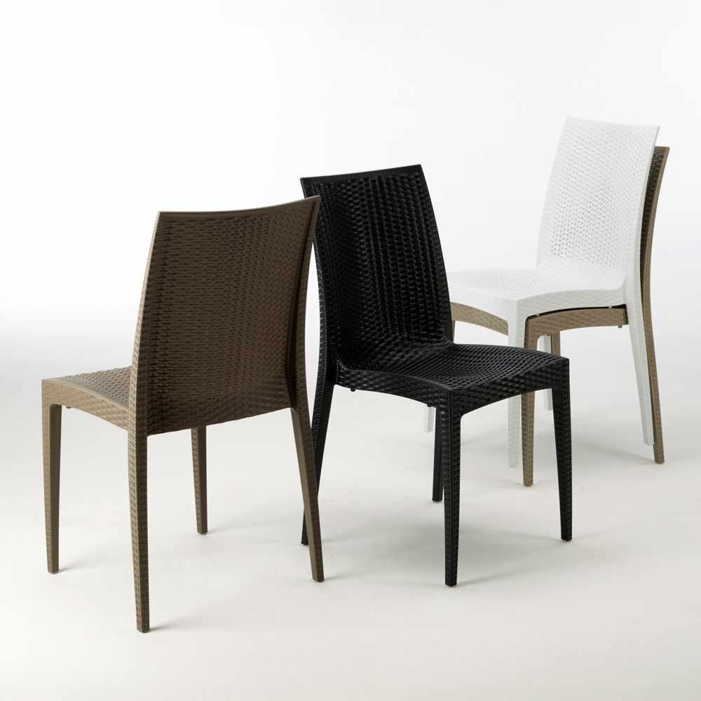 miniature 33 - Chaises de Jardin café bar empilable Bistrot Grand Soleil