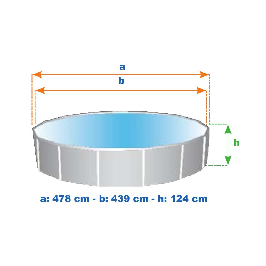 Piscine hors-sol graphite Intex 26382 ex 28382  ronde 478x124 - immagine