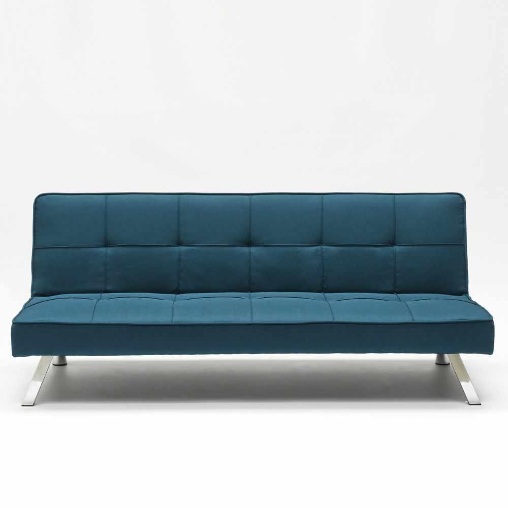 Divano-letto-in-tessuto-2-posti-design-moderno-GEMMA-pronto-letto miniatura 44