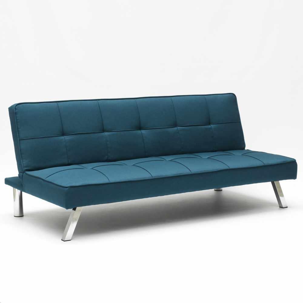 Divano-letto-in-tessuto-2-posti-design-moderno-GEMMA-pronto-letto miniatura 42