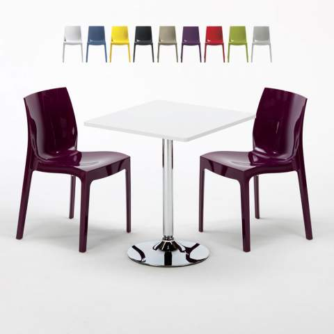Tavolini Sedie Bar.Sedie E Tavoli Di Design Per Interni Bar E Casa Scontati