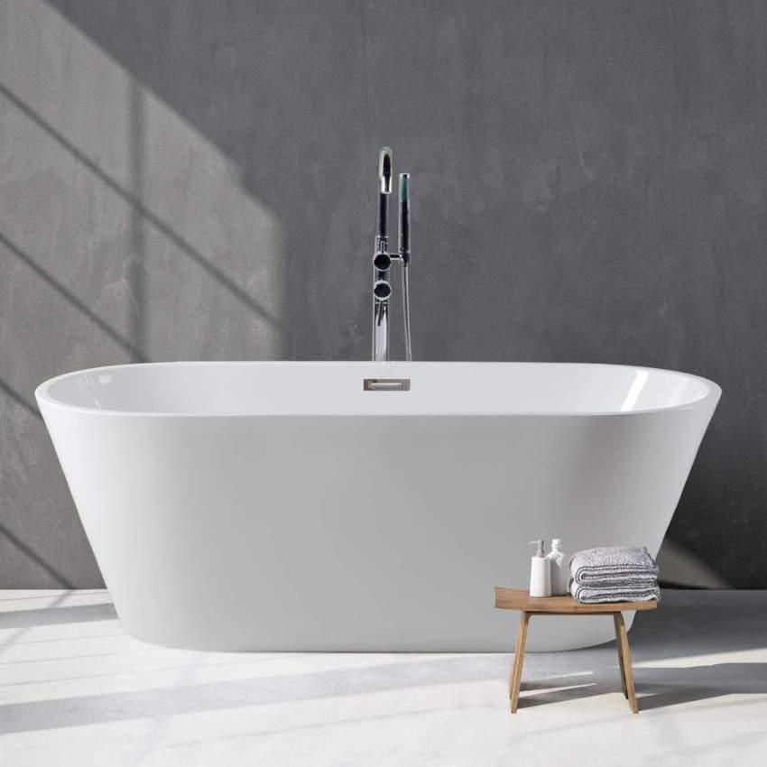 Vasca da bagno freestanding design classico indipendente zante for Vasca da bagno freestanding