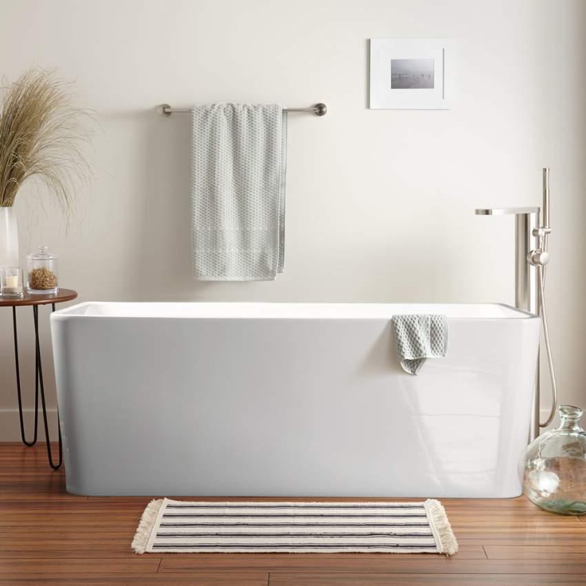 Vasca Da Bagno In Resina.Vasca Da Bagno Freestanding Dal Design Classico In Resina Andro