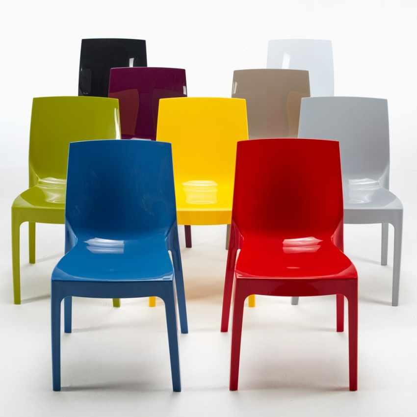 18 Stühle Küchenstuhl Esstischstuhl Esszimmerstuhl ICE Grand Soleil - indoor