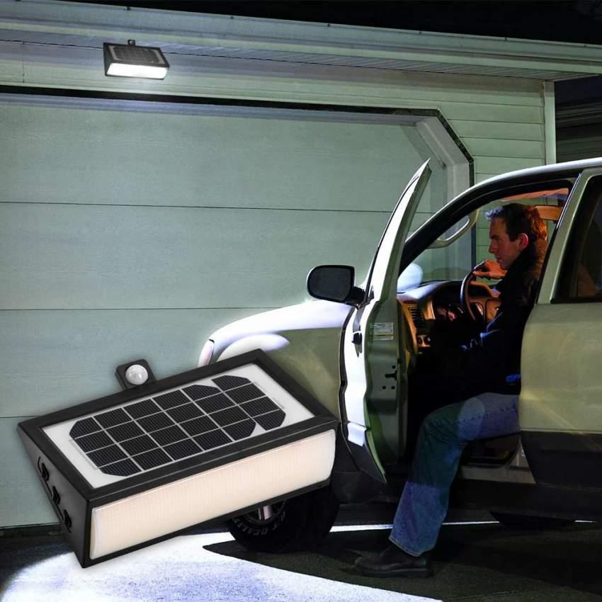 Applique Lampada Led Muro Luce Solare Giardino Esterno 50 Led - promo