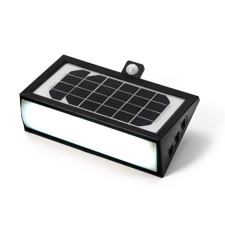 Applique Lampada Led Muro Luce Solare Giardino Esterno 50 Led - interno