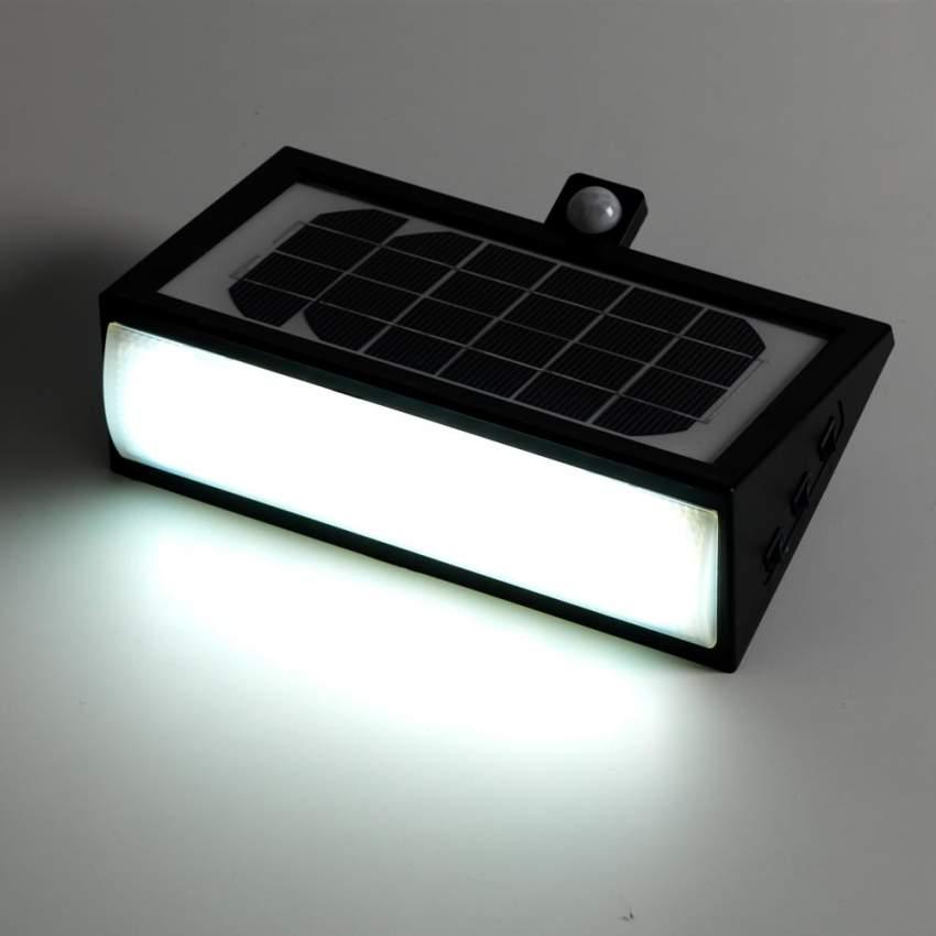 Applique Lampada Led Muro Luce Solare Giardino Esterno 50 Led - vendita