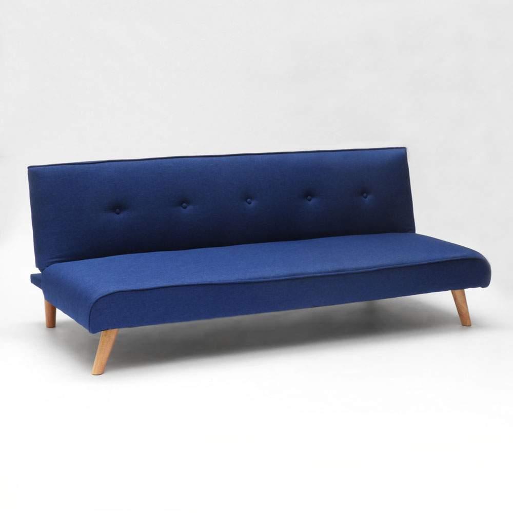 miniature 28 - Canapé-lit convertible 2 places Larimar en tissu pour le salon et le séjour