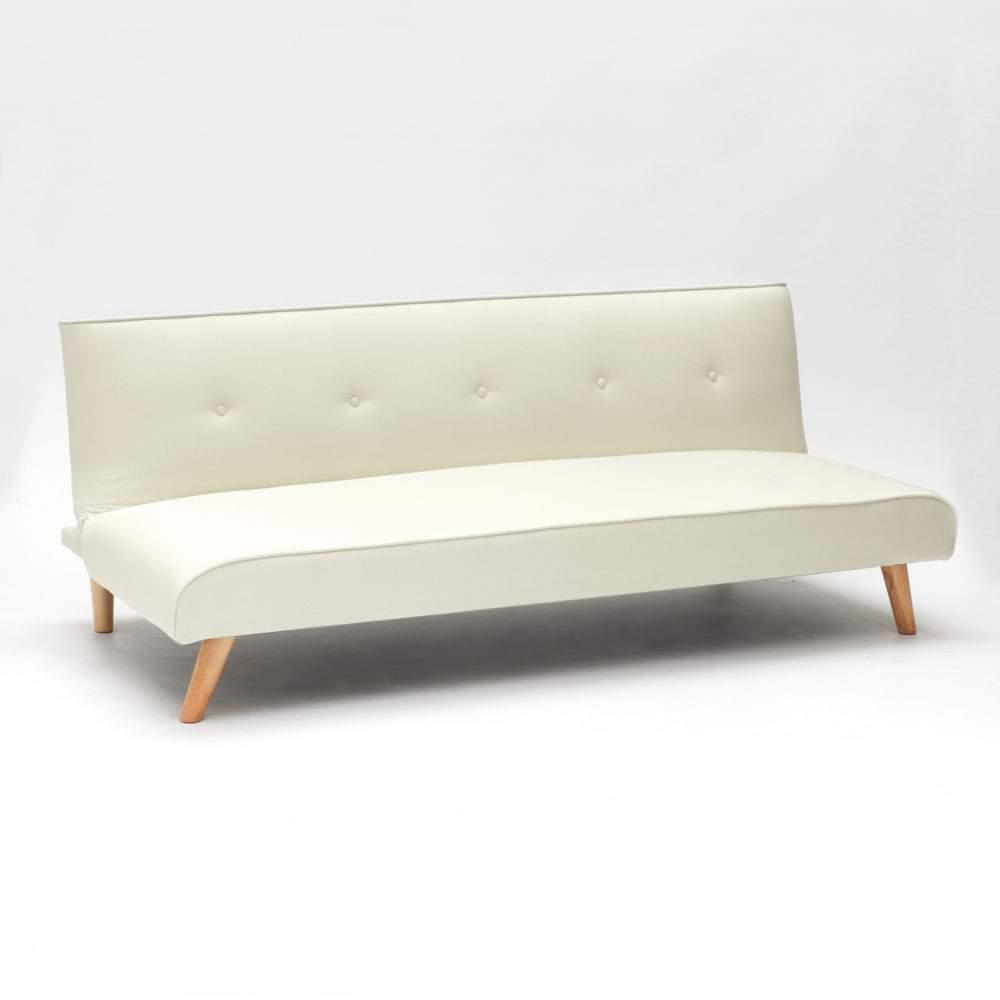 miniature 21 - Canapé-lit convertible 2 places Larimar en tissu pour le salon et le séjour