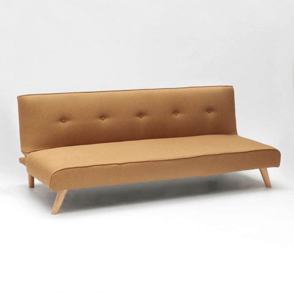 miniature 14 - Canapé-lit convertible 2 places Larimar en tissu pour le salon et le séjour