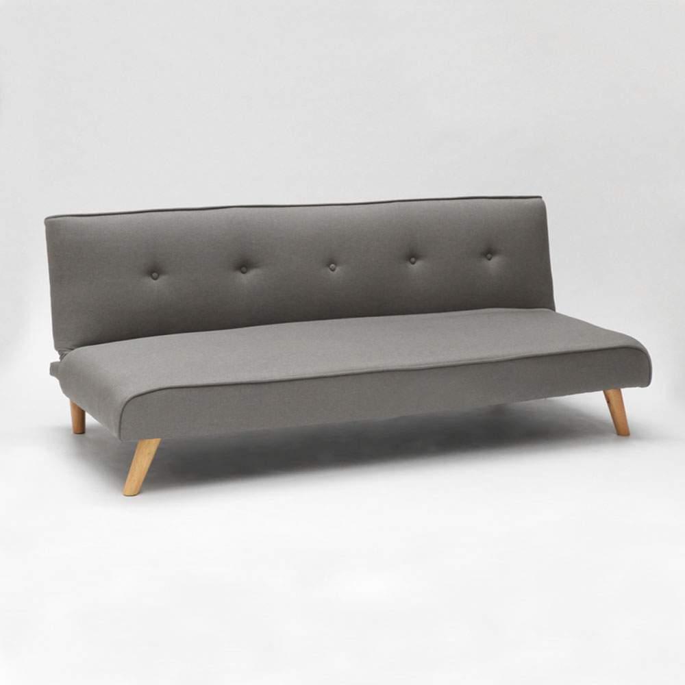 miniature 35 - Canapé-lit convertible 2 places Larimar en tissu pour le salon et le séjour