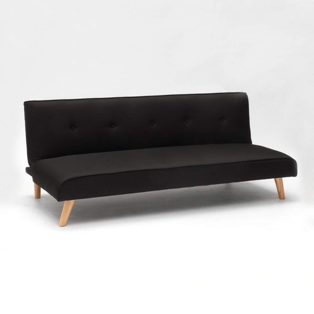 miniature 56 - Canapé-lit convertible 2 places Larimar en tissu pour le salon et le séjour