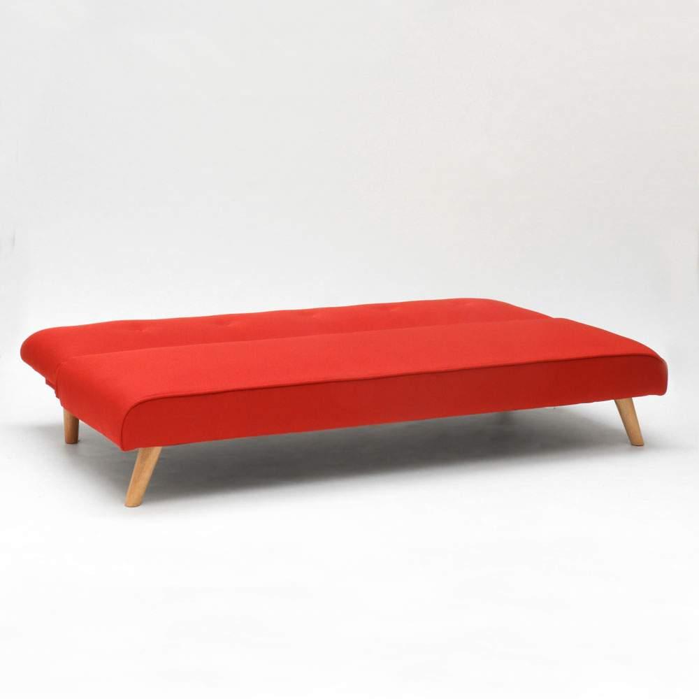 miniature 50 - Canapé-lit convertible 2 places Larimar en tissu pour le salon et le séjour
