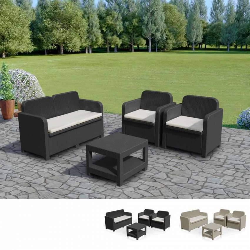 Set Rattan Sorrento Grand Soleil.Sorrento Outdoor Lounge Set By Grand Soleil