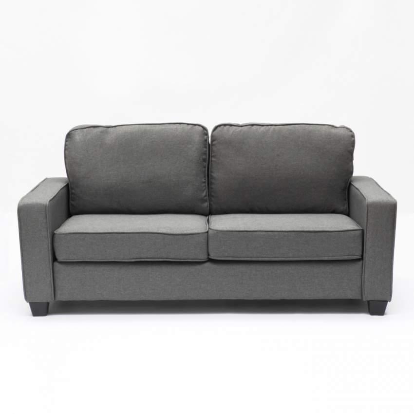 Divano 2 posti in tessuto per salotto e sale d'attesa design RUBINO - esterno
