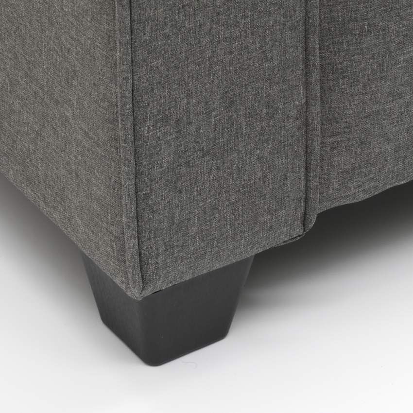 Divano 2 posti in tessuto per salotto e sale d'attesa design RUBINO - nuovo